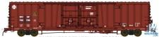 BLMA 18050 BNSF gedeckter Güterwagen 4-achs Ep.5/6