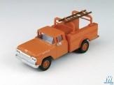 Classic Metal Works 30464 Ford F-100 Hi-Rail Truck orange 1960