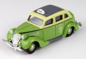 Classic Metal Works 30471 Ford Fordor Checker Taxi Cab 1936