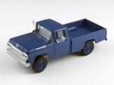 Classic Metal Works 30473 Ford F-100 Pickup Truck 4x4 blau