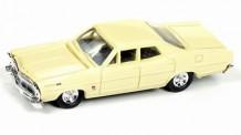 Classic Metal Works 30487 Ford Custom 500 Sedan gelb