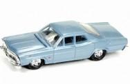 Classic Metal Works 30489 Ford Custom 500 Sedan blau-met.