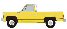 Classic Metal Works 30606 Chevrolet C/K-10 Cheyenne Pickup gelb