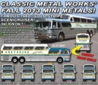 Classic Metal Works 33107 GMC PD4501 Scenicruiser Greyhound 1960