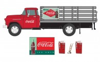Classic Metal Works 40008 1955 Chevrolet 6500 Stakebed Truck mit Z
