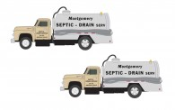 Classic Metal Works 50416 2x Ford Septic Tank Truck 1954