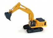 Classic Metal Works 597100 Hydraulik-Bagger, gelb