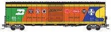 MTL 10400080 BNSF 25 Anniversary Güterwagen Ep.6