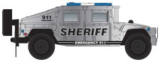 MTL 49945956 2 Stk. Humvee - Sheriff silver - black