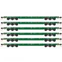 MTL 99301611 DODX Flachwagen-Set 6-tlg Ep.5/6