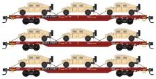 MTL 99301621 DODX Flachwagen-Set 3-tlg Ep.5/6