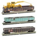 MTL 99301890 UP offene Güterwagen-Set 3-tlg Ep.4/5