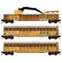 MTL 99302100 CSX offene Güterwagen-Set 3-tlg