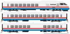 Rapido Trains 25501 Amtrak Triebzug RTL Turboliner Phase 3