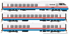 Rapido Trains 25502 Amtrak Triebzug RTL Turboliner Phase 3