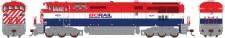 Rapido Trains 400013 BCRail Diesellok Dash 8-40CM Ep.5