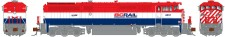 Rapido Trains 540521 BCOL Diesellok Dash 8-40CM Ep.5