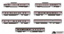 Rapido Trains 550002 CP Personenwagen-Set 10-tlg Ep.3/4