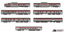 Rapido Trains 550003 CP Personenwagen-Set 10-tlg Ep.4
