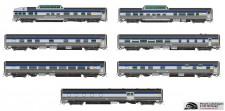 Rapido Trains 550005 VIA Personenwagen-Set 10-tlg Ep.4/5