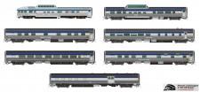 Rapido Trains 550006 VIA Personenwagen-Set 10-tlg Ep.5/6
