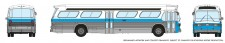 Rapido Trains 573003 GM New Look Bus - Montreal