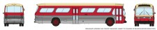 Rapido Trains 573006 GM New Look Bus - Toronto (Maroon)