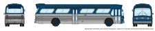 Rapido Trains 573096 GM New Look Bus - Generic Blue