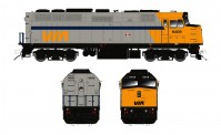 Rapido Trains 580502 VIA Diesellok EMD F40PH-2D Ep.4/5