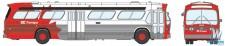 Rapido Trains 701030 GMC TDH-5301 Ottawa OC Transpo