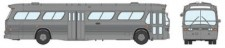 Rapido Trains 701042 GM New Look/Fishbowl Bus silver