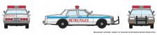 Rapido Trains 800008 Chevrolet Impala Sedan - Metro Police
