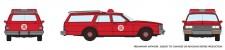 Rapido Trains 800011 Chevrolet Impala Wagon - Fire Chief