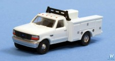 River Point N36J72501 1992 Ford F Utility Truck weiß 2 Stk