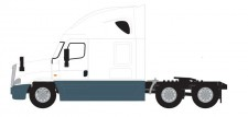 Trainworx 42542 Freightliner Cascadia Zugmaschine White