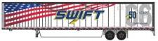 Trainworx 6537605 Swift  53' Van Trailer 2016