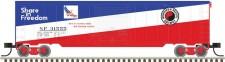Trainman 50003877 NP gedeckte Güterwagen 4-achs