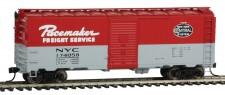 Walthers Mainline 1681 NYC gedeckter Güterwagen 4-achs Ep.2/3