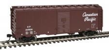 Walthers Mainline 1756 CP gedeckter Güterwagen 4-achs Ep.3