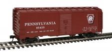 Walthers Mainline 1760 PRR gedeckter Güterwagen 4-achs Ep.3