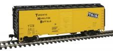 Walthers Mainline 1761 THB gedeckter Güterwagen 4-achs Ep.3/4