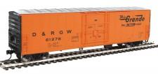 Walthers Mainline 2033 DRGW gedeckte Güterwagen 4-achs