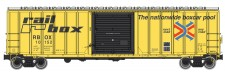 Walthers Mainline 2121 Railbox gedeckter Güterwagen 4-achs Ep.4