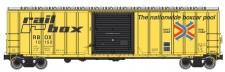 Walthers Mainline 2122 Railbox gedeckter Güterwagen 4-achs Ep.4