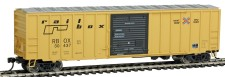 Walthers Mainline 2138 Railbox gedeckter Güterwagen 4-achs Ep.4