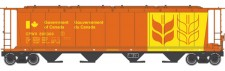 Walthers Mainline 7166 CP Silowagen 4-achs Ep.5