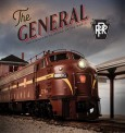 WalthersProto 829 PR 1960s The General Deluxe Edition