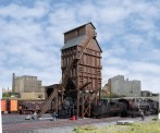 Walthers 2922 Wood Coaling Tower