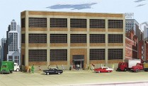 Walthers 3252 Variety Printing Background Building