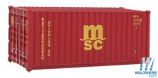 Scene Master 8059 20' Container MSC